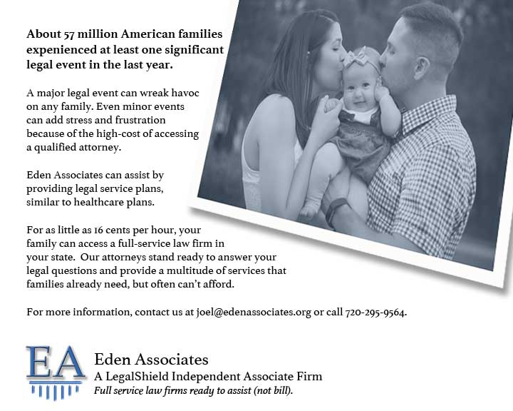 57 Million Families Have Legal Issues